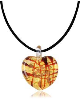 Passione - Murano Glass Heart Pendant