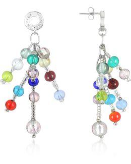 Prestige - Murano Glass Pearl Drop Earrings