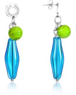 Lana - Murano Glass Drop Earrings