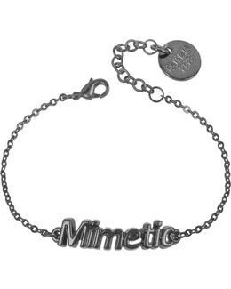 Black 'mimetic' Bracelet