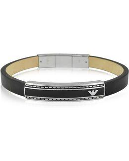 Stainless Steel Signature Men's Bracelet