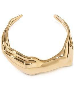 Figuratives Body Gold Plated Bracelet