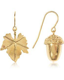 18k Gold-plated Barbizon Earrings