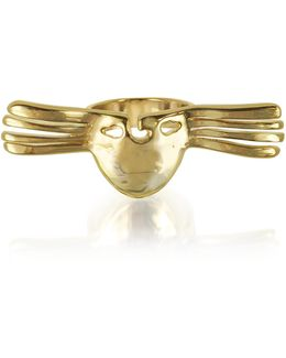 Melina Winged Mask Ring