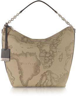 1a Prima Classe - Geo Printed Medium ''contemporary'' Shoulder Bag