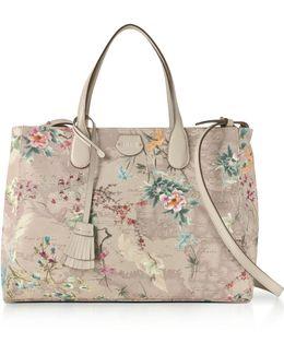 Medium Oriental Garden Tote Bag