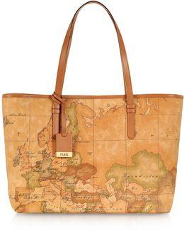 1a Prima Classe - Geo Printed Large 'new Basic' Tote Bag
