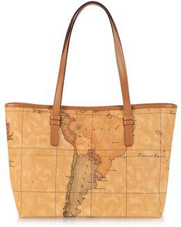 1a Prima Classe - Geo Printed Medium ''new Basic'' Tote Bag