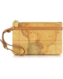 1a Prima Classe - Geo Printed Small ''contemporary'' Clutch