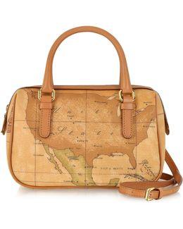 1a Prima Classe - Geo Printed Mini ''new Basic'' Satchel Bag