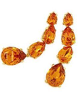 Tangerine Dangle Earrings
