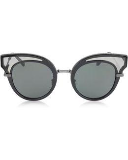 Bv0094s Acetate Cat Eye Women's Sunglasses