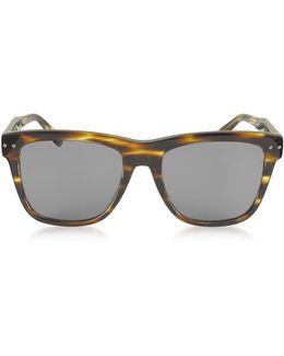 Bv0098s 002 Light Havana Acetate Frame Unisex Sunglasses