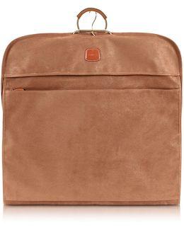 Life Camel Micro-suede Garment Bag