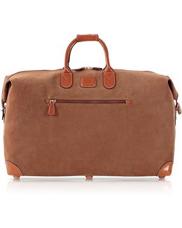 Life Camel Micro-suede 22'' Duffle Bag