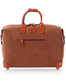 Life Camel Micro Suede 18'' Duffle Bag