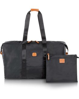 X-bag Large Foldable Last-minute Holdall In A Pouch