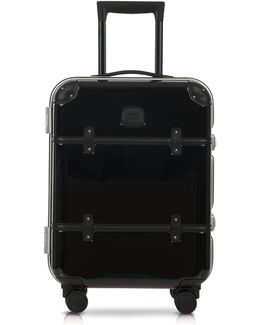 Bellagio Metallo V2.0 21'' Black Carry-on Spinner Trunk