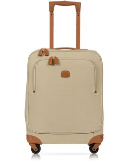 Life Papyrus Micro Suede 21'' Carry On Spinner