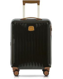 Capri Olive Polycarbonate Hard Case Cabin Trolley
