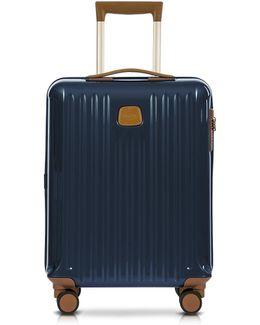 Capri Night Blue Polycarbonate Hard Case Cabin Trolley
