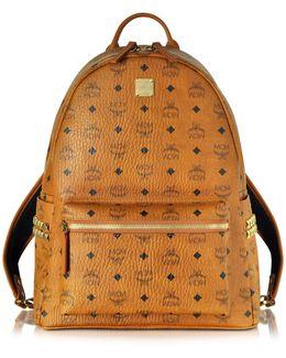 Medium Stark Cognac Backpack