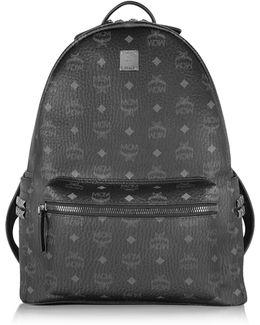 Black Stark Medium Backpack
