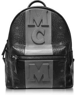 Stark Stripe Black Medium Backpack