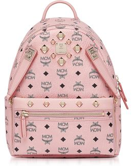 Dual Stark Small Soft Pink Backpack