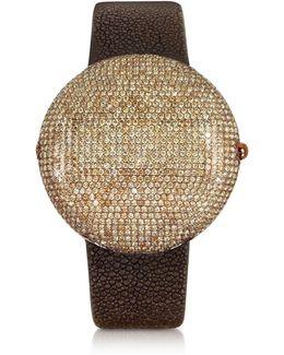 Clou Brown Diamond Dinner Watch