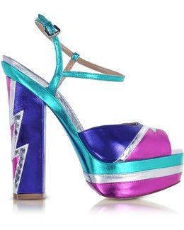Glam Flash Platform Ziggy Sandal