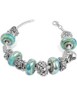 Sterling Silver Garden Bracelet