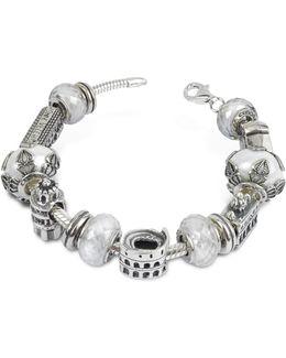 Sterling Silver Italian Journey Bracelet