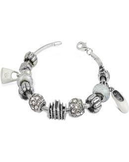 Sterling Silver Milan Charm Bracelet