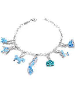 Sterling Silver Blue Bracelet