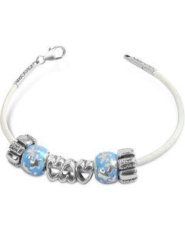 Baby Boy Sterling Charm Bracelet