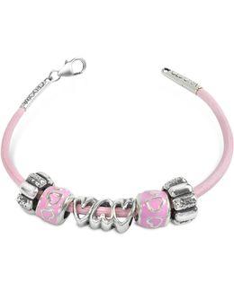 Baby Girl Sterling Charm Bracelet
