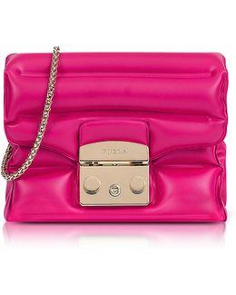 Pinky Rubber Metropolis Oxygen Mini Crossbody Bag