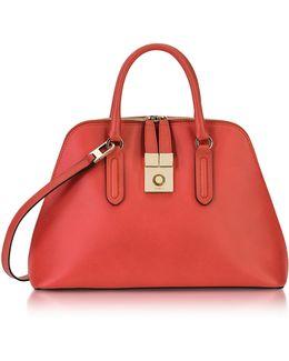 Ruby Milano Medium Leather Handle Bag