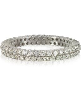 Diamonds Eternity Double Band Ring