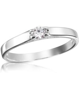 0.10 Ctw Diamond Solitaire Ring