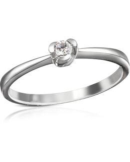 0.08 Ctw Diamond Solitaire Ring