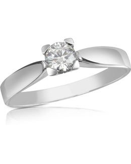 0.23 Ctw Diamond Solitaire Ring