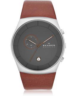 Havene Chronograph Leather Men's Watch