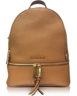 Rhea Zip Medium Luggage Leather Backpack