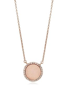 Heritage Rose Gold Pvd Charm Necklace