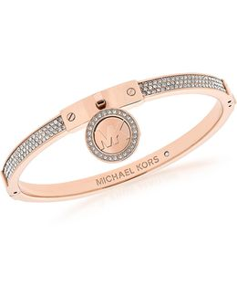 Heritage Pvd Rose Goldtone Stainless Steel Bracelet