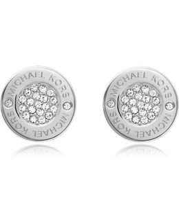 Heritage Pave Stud Earrings