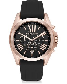 Bradshaw Rose Goldtone Stainless Steel Men's Chronograph Watch