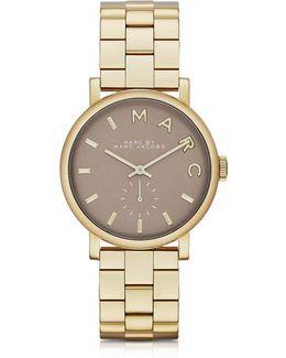 Baker Bracelet 36mm Gold Ip Women's Watch